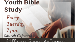 Bible study for youth